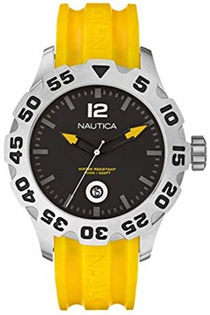 Nautica Mens Analogue Quartz Watch with Plastic Strap A14604G