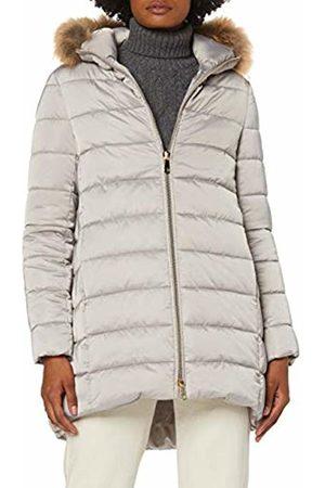 Trussardi Jeans Women's Hooded Parka Regular Fit Matt