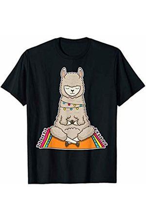 Yoga Lifestyle Clothing Namaste Alpaca Yoga Exercise Llama No Prob-llama Llamaste T-Shirt