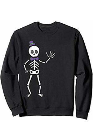 Wicked Wardrobe The Waving Skeleton Shirt Halloween Cute Kids Toddler Gift Sweatshirt