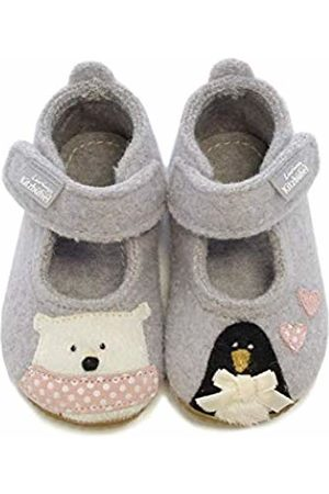 Living Kitzbühel Baby Girls' Babyballerina Eisbär & Pinguin in Love Slippers