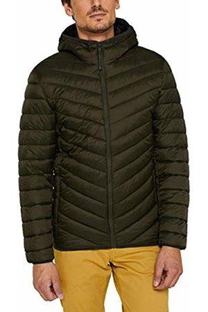 Esprit Men's 079cc2g003 Jacket, (Khaki 350)