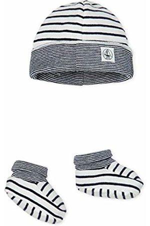 Petit Bateau Baby Boys' Bonnet + Chaussons_5043100 Clothing Set