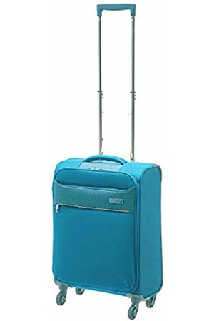 D & N Travel Line 6304 Suitcase 55 cm (Turquoise) - 6354-05