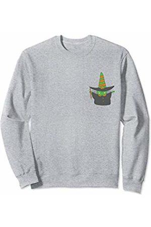 Wicked Wardrobe Adorable Halloween Witch Shirt Pocket Cute Kids Toddler Gift Sweatshirt