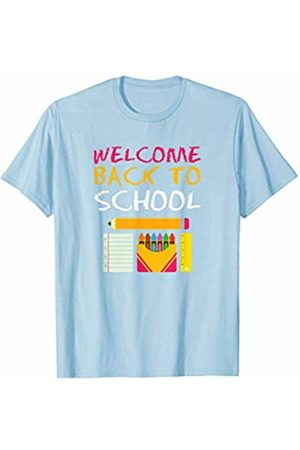 Back To School Apparel by BUBL TEES Women T-shirts - Welcome Back To School For Teachers and Students T-Shirt