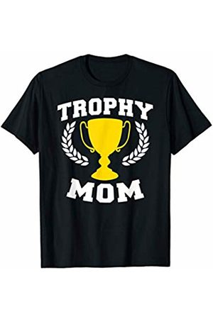 Miftees Trophy MOM Funny mom Gift T-Shirt