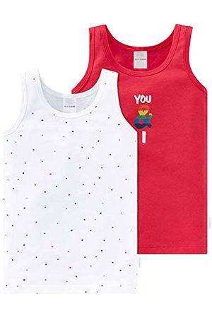 Schiesser Girls' Multipack 2pack Hemd 0/0 Vest