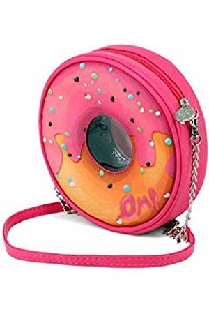 Oh My Pop! Oh My Pop Pinknut-Round Shoulder Bag Messenger Bag