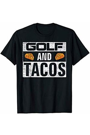 Golf Loves Shirt Gift Vintage Golf and Tacos T-Shirt Funny Sports Cool Gift T-Shirt