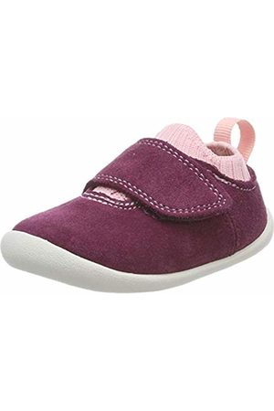 Clarks Unisex Kids' Roamer Seek Low-Top Slippers, Plum Suede
