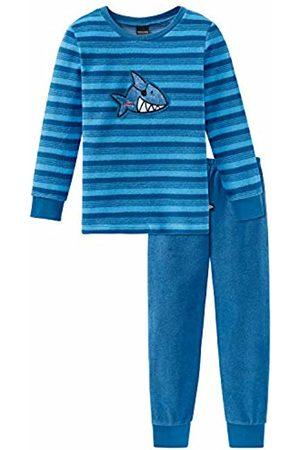 Schiesser Boys' Capt´n Sharky Kn Anzug Lang Pyjama Sets