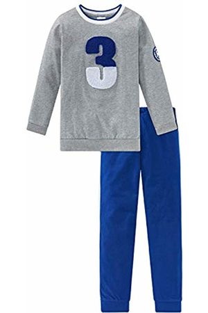 Schiesser Boys' Fußball Kn Anzug Lang Pyjama Sets