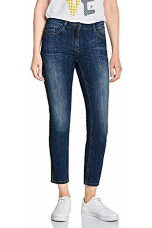 Cecil Women's 372454 Charlize Tight Fit Slim Jeans