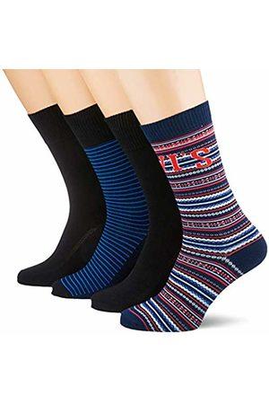 Levi's Men's AW19 GIFTBOX Regular Cut 4P Socks