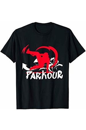 Parkour Free Running Cool Tees Parkour Free Running Urban Sport Obstacle Course Training T-Shirt