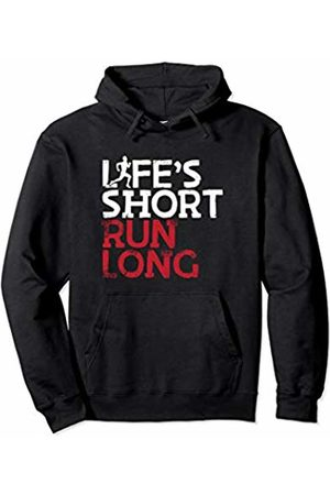 Bowes Fitness Men Shorts - Life's Short Run Long Male Runner Pullover Hoodie