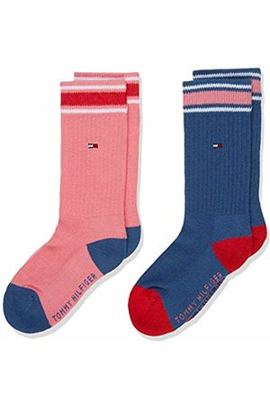 Tommy Hilfiger Girls' TH Kids Iconic Sports Sock 2P