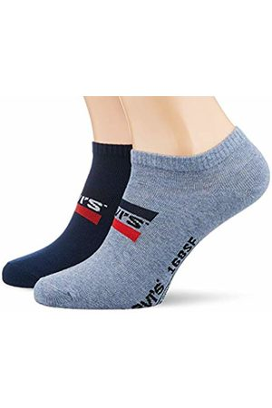 Levi's Men's 168SF Low Cut SPRTSWR Logo 2P Socks