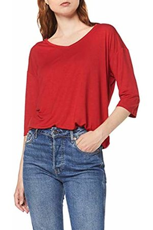Esprit Women's 999ee1k812 Long Sleeve Top, Dark 610