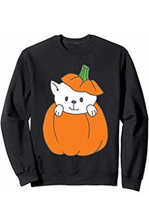 Wicked Wardrobe Adorable Halloween Cat Shirt Cute Pumpkin Kids Toddler Gift Sweatshirt
