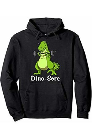 T-Rex Dinosaur Workout Shirts T-Rex Dinosaur Fitness Gym Workout Bodybuilding Men Boys Pullover Hoodie