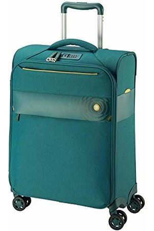 D & N 8004 Travel Line Suitcase 54 cm (Turquoise) - 8054-05