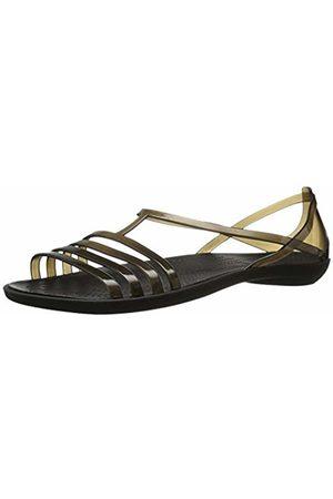 Crocs Isabella Sandal W, Women's Block Wedge Shoes