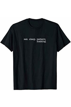 Eat Sleep Swag Eat Sleep Pattern Making T-Shirt