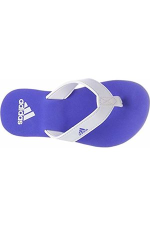 adidas Beach Thong 2 K, Unisex Kids' Mules, Multicolored (Ftwwht/Hirblu/Ftwwht Cp9378)