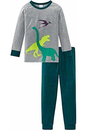 Schiesser Boys' Supersaurus Kn Anzug Lang Pyjama Sets