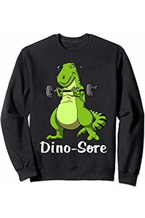 T-Rex Dinosaur Workout Shirts T-Rex Dinosaur Fitness Gym Workout Bodybuilding Men Boys Sweatshirt