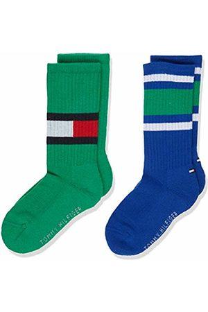 Tommy Hilfiger Boy's Th Kids Flag 2p Calf Socks