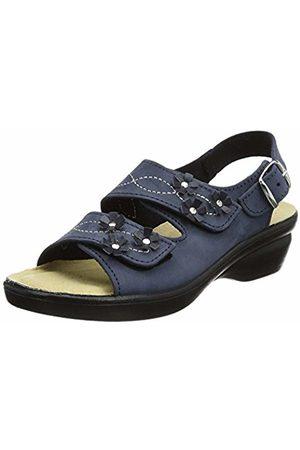 Padders Women's's Bluebell Sling Back Sandals (Navy Nub) 2 UK 35 EU