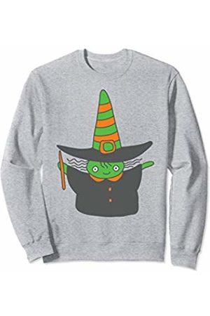 Wicked Wardrobe Adorable Halloween Witch Shirt Cute Kids Toddler Gift Sweatshirt
