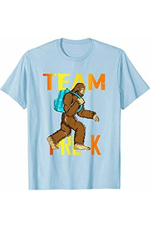 Back To School Apparel by BUBL TEES Team Pre-K Bigfoot Sasquach Back To School T-Shirt