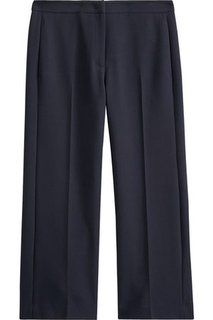 Jigsaw Modern Crepe Crop Straight Trousers