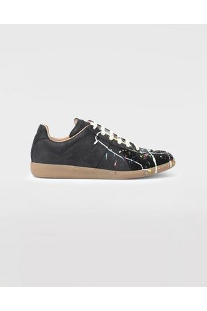 Maison Margiela Men Trainers - Sneakers Replica Bovine Leather