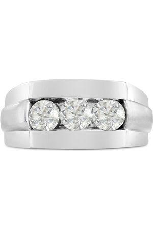 SuperJeweler Men's 1 Carat Diamond Wedding Band in 10K , G-H, I2-I3, 10.61mm Wide