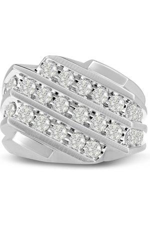 SuperJeweler Men's 1.25 Carat Diamond Wedding Band in 10K , I-J-K, I1-I2, 16.76mm Wide