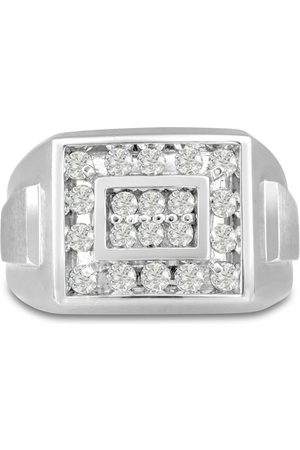 SuperJeweler Men's 1 Carat Diamond Wedding Band in 14K , I-J-K, I1-I2, 14.66mm Wide
