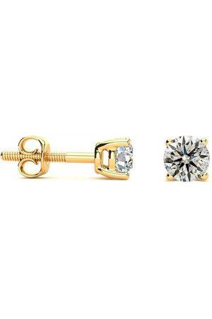 SuperJeweler 1/2 Carat Diamond Stud Earrings & Necklace Set in 14k , J/K