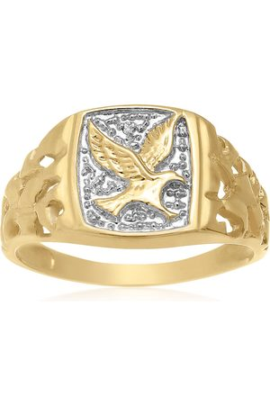 Hansa Fly High American Eagle Nugget Ring, , I/J by