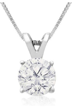 Hansa 3/4 Carat 14k Fine Diamond Pendant Necklace, H/I, 18 Inch Chain by
