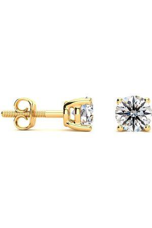 Hansa 3/4 Carat I-J VS Round Diamond Stud Earrings in 14k by