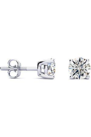 Hansa 1 Carat Diamond Stud Earrings, , H/I Color, SI1-SI2 Clarity by