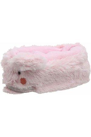 Joules Girl's Smile Socks, (Pale Mouse Plpnkmouse)