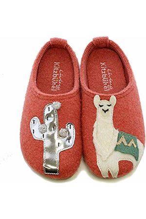 Living Kitzbühel Girls' Pantoffel Lama & Kaktus Open Back Slippers