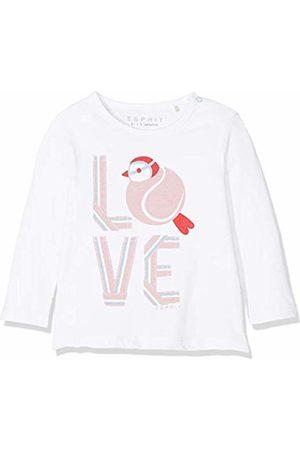Esprit Kids Baby Girls' Rp1000107 T-Shirt Long Sleeves Top, ( 010)