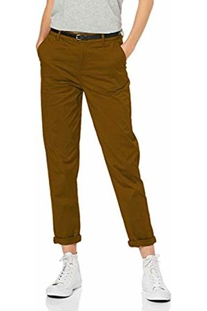 Scotch&Soda Maison Women's Regular Fit Chino Trouser, ((Olive Leaf 76)
